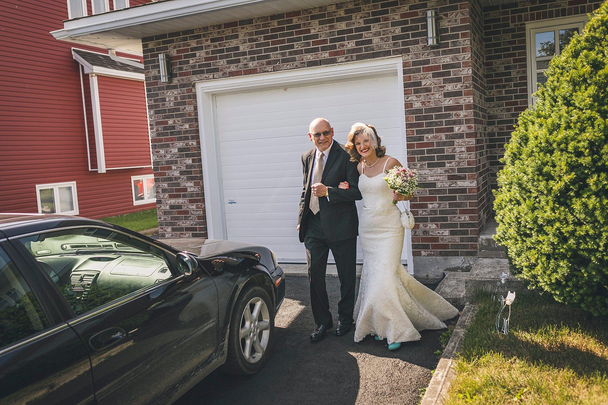 wedding held in St. John's, Newfoundland