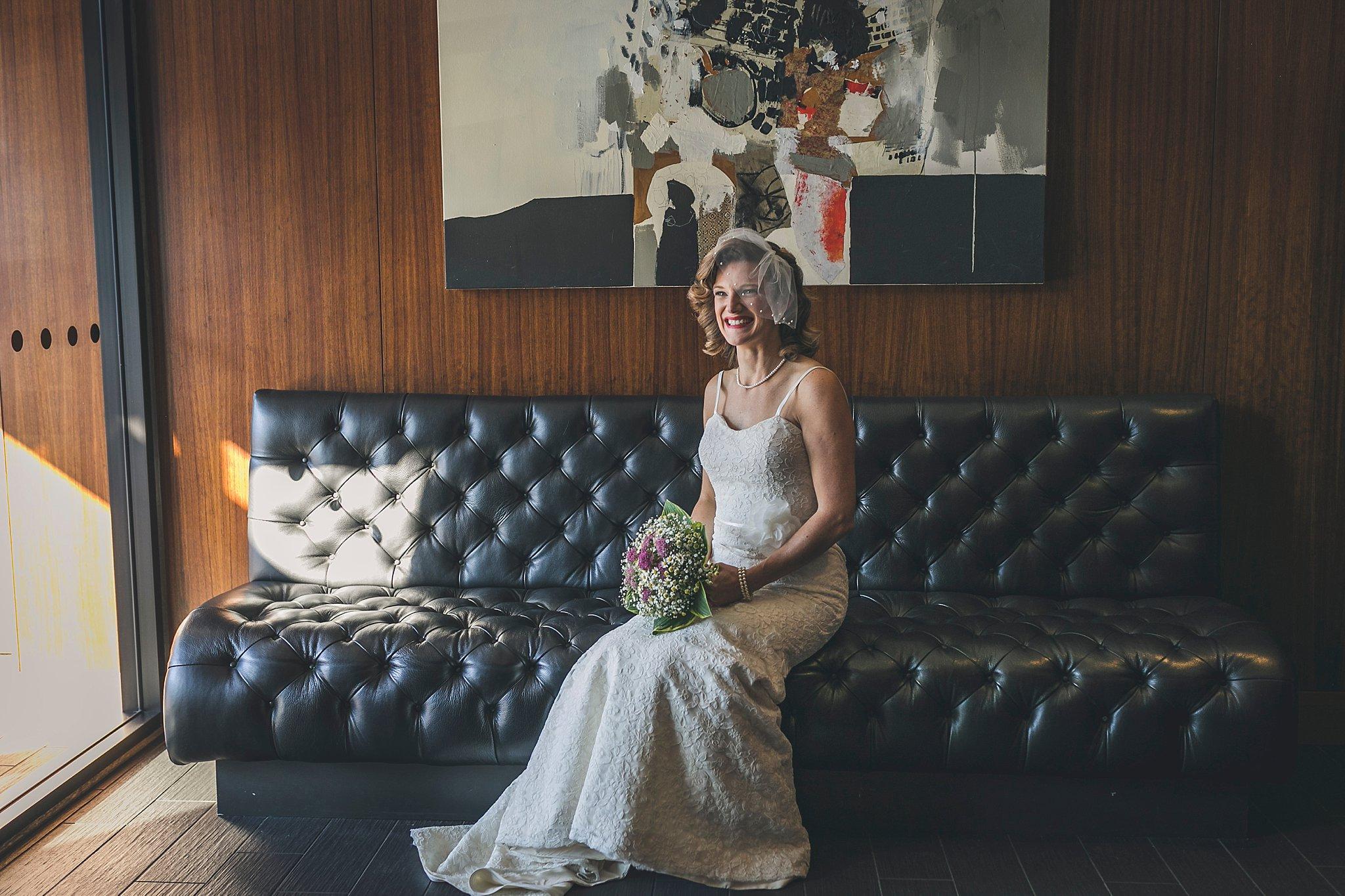 Bride departs of her St. John's, Newfoundland Wedding