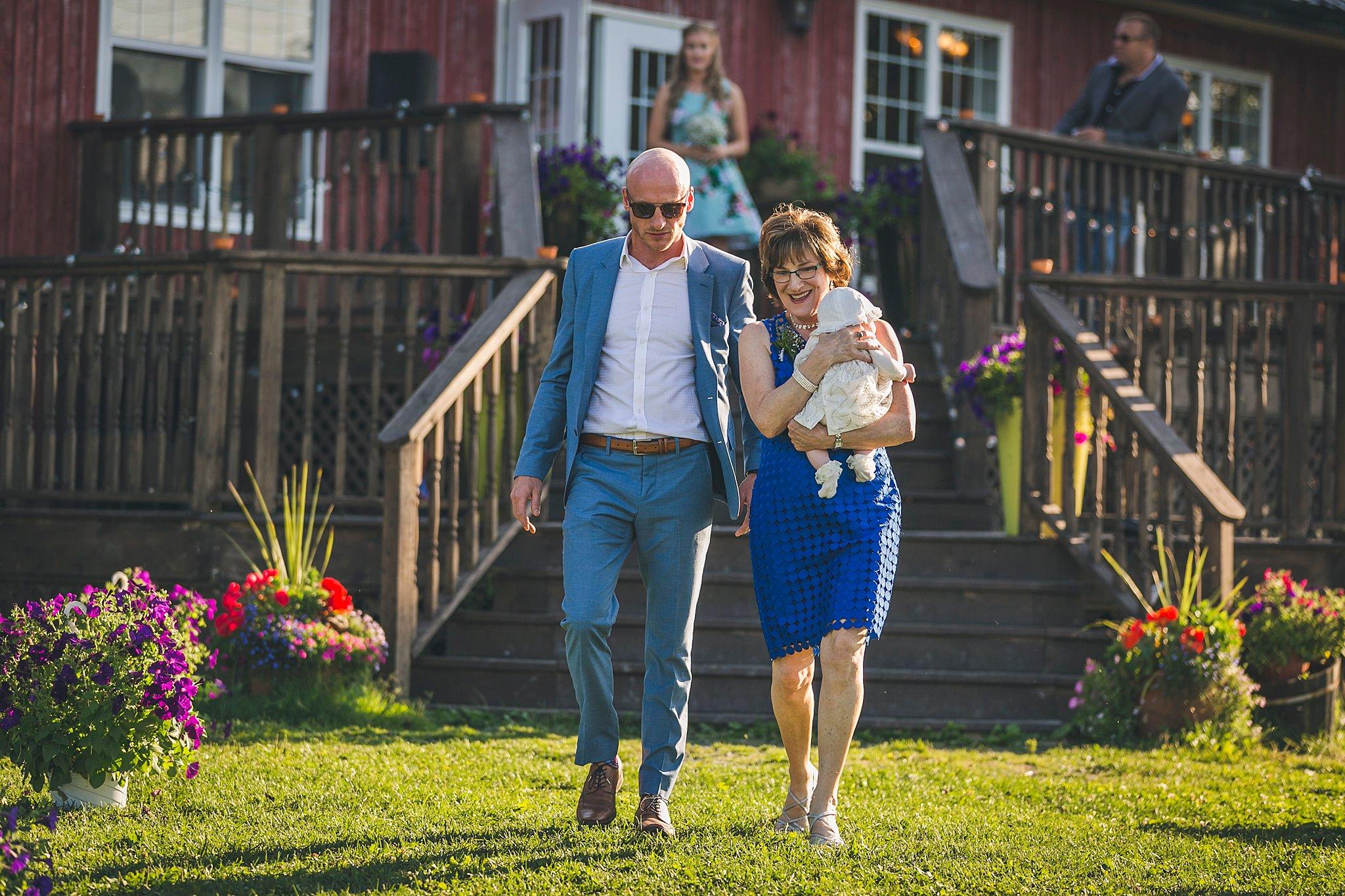 Wedding held at Lester's Farm in St. John's, Newfoundland