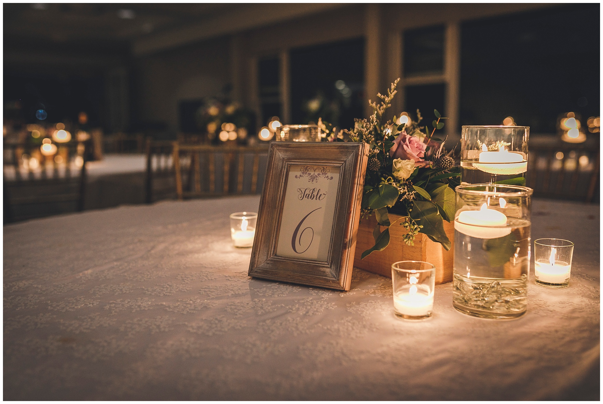 Candlelight decor By Sharpe Design at Bally Haly