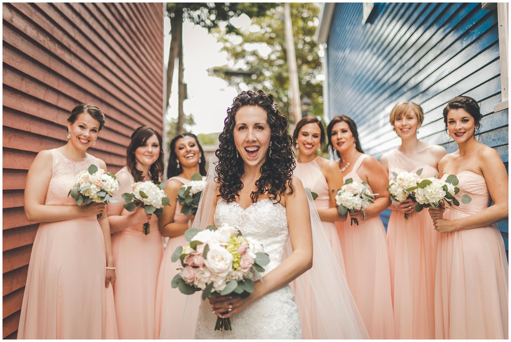 Bridesmaids downtown