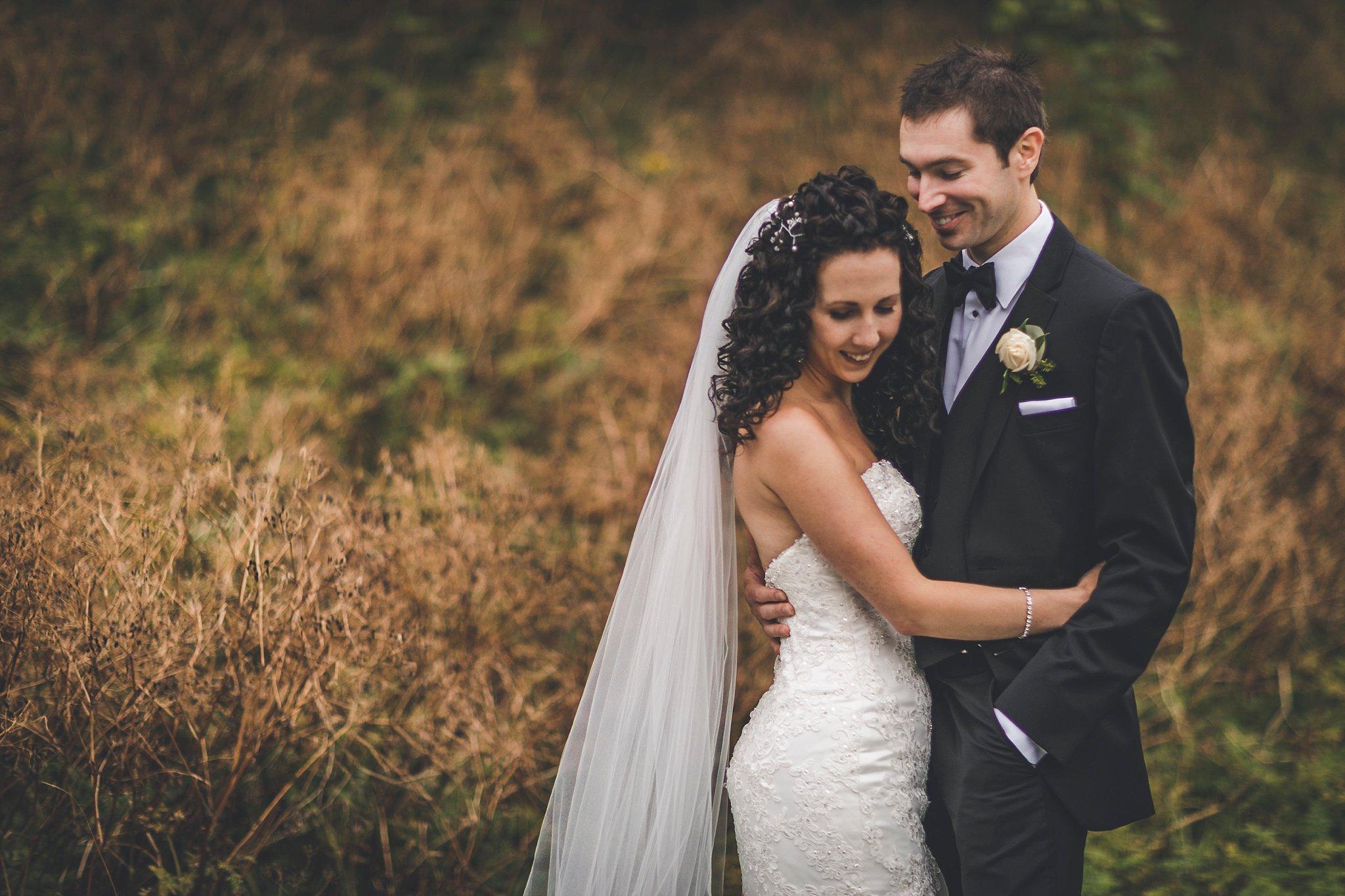 August Wedding Couple