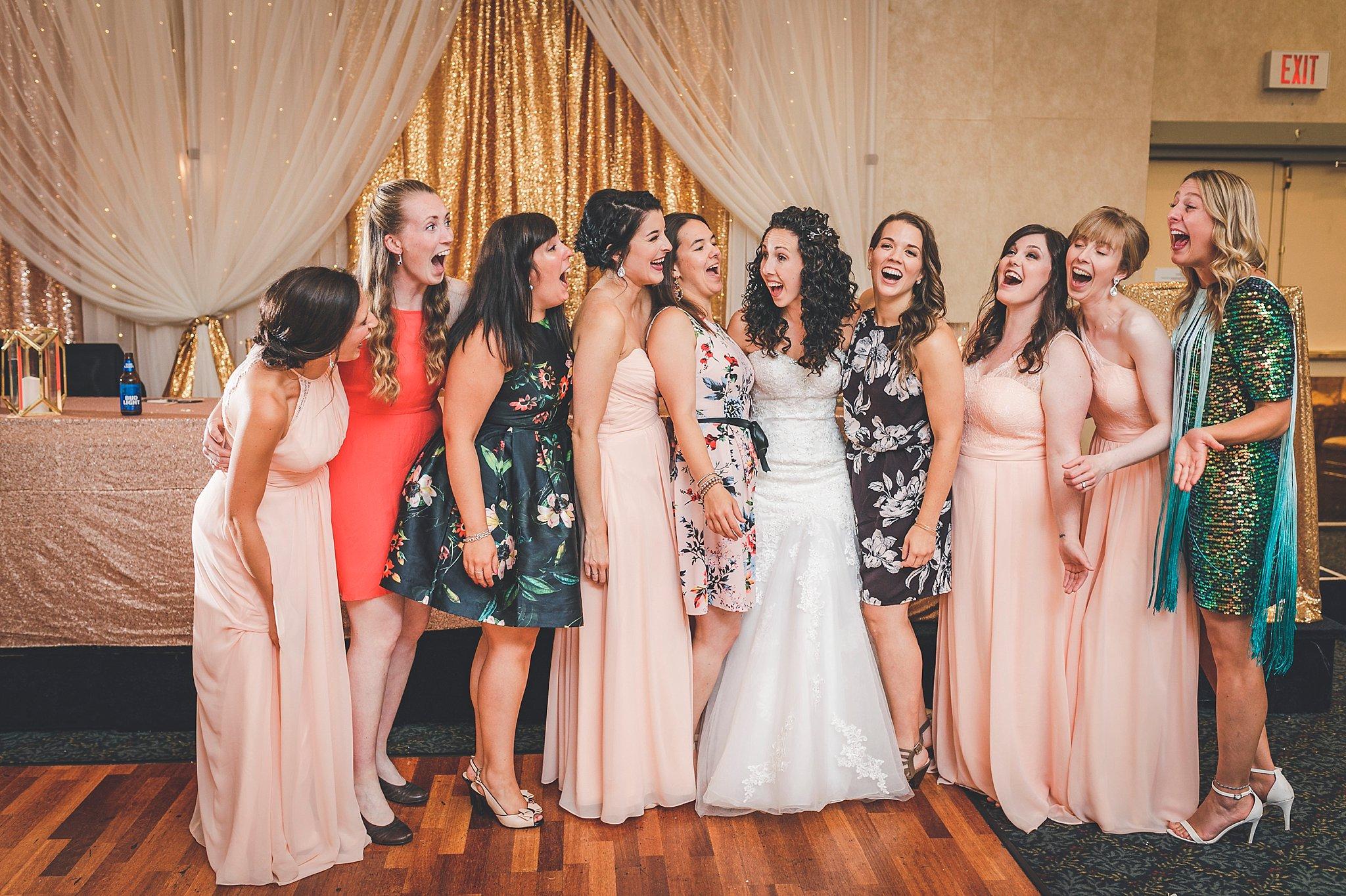 Girlfriends at St. John's Wedding