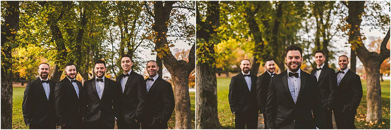 Wedding Party in Bannerman Park