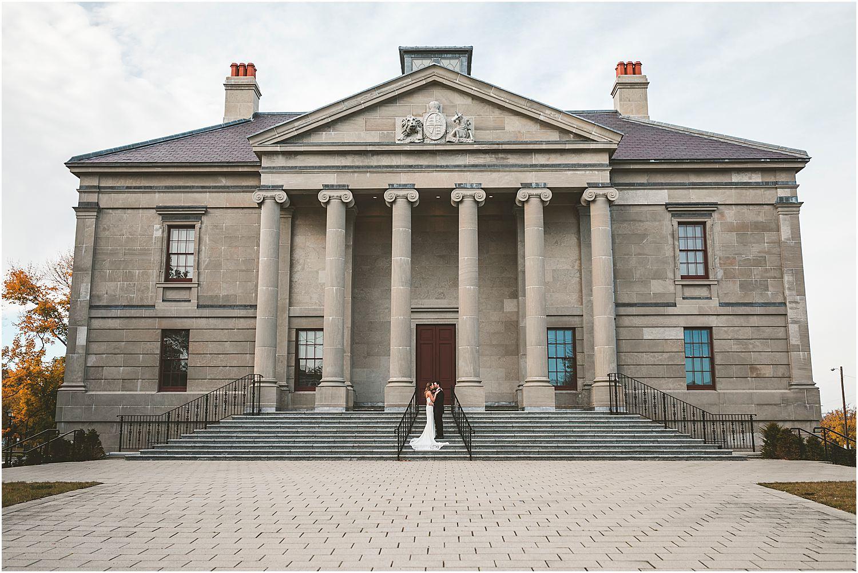 Colonial Building Wedding