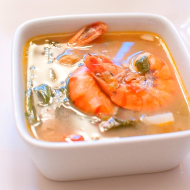 There is no other broth quite as sour and salty and comforting as Sinigang. Whether with pork, prawns, salmon, or a protein mix of species, this wins.