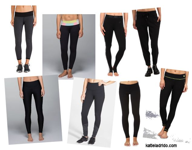 The Perfect Little Black Tight. This is my main priority for my personal gym style. I need a comfortable bottom that I can wear to cycle class, a heavy leg workout, or barre class and be able to move as freely and quickly as I need to.