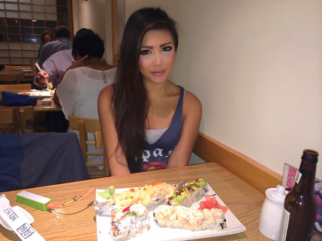 Katie Ladrido  Miyagi Japanese Restaurant   McLean, Virginia   September 2014