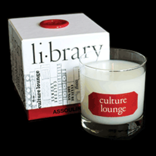 Assouline Candles are made with the avid reader in mind. Assouline publishes the most sophisticated books in the world, and their budding Library Candle Collection is no different. Each candle is designed to remind one of a library, a reading room and the beloved reader's books themselves. A perfect and unique gift for the reader in your life. $49 USD for 55 hour burn time