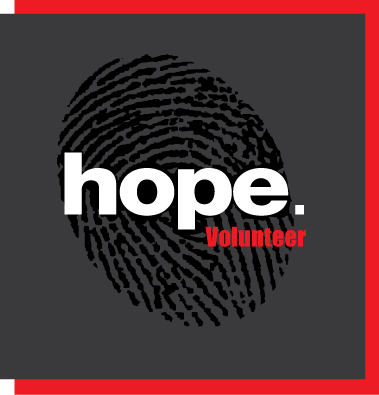 Hope Volunteer     Contact us today for more information and tools to make an impact in the lives of former victims and to help prevent human trafficking from happening in the first place!