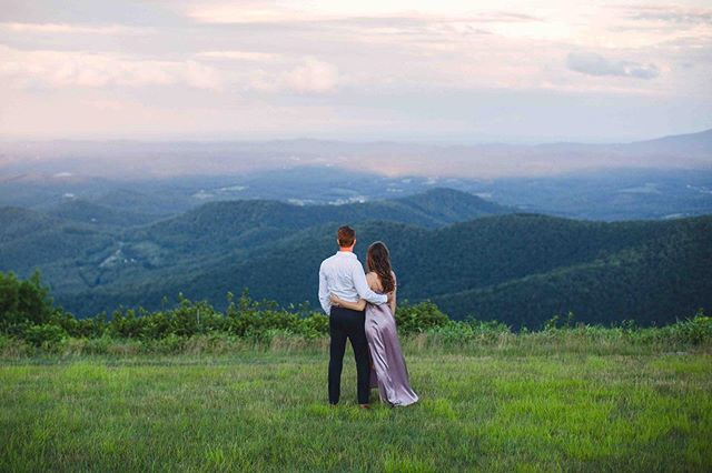 I don't know what I'd do without these views... I am a wanderer and I've traveled a lot of places but there's truly no place like home! #appalachianmtnbride