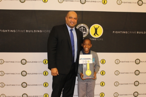 Kyloni Codrington - Grade 4 - Brighter Choice Charter School for Boys  Kyloni has truly embraced the spirit of the WORDS campaign when he helped a fellow scholar turn a bad day into a good day. Keep up the great work Kyloni!
