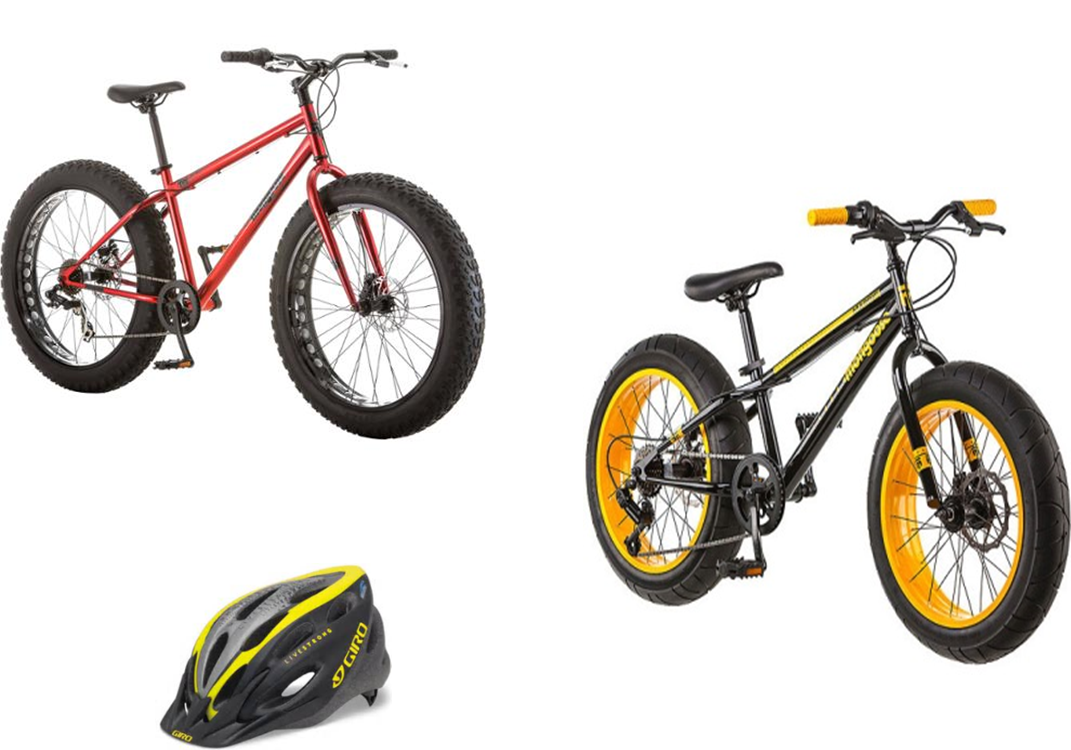 Grand Prize Option 1: Fat Tire Mongoose Bikes!