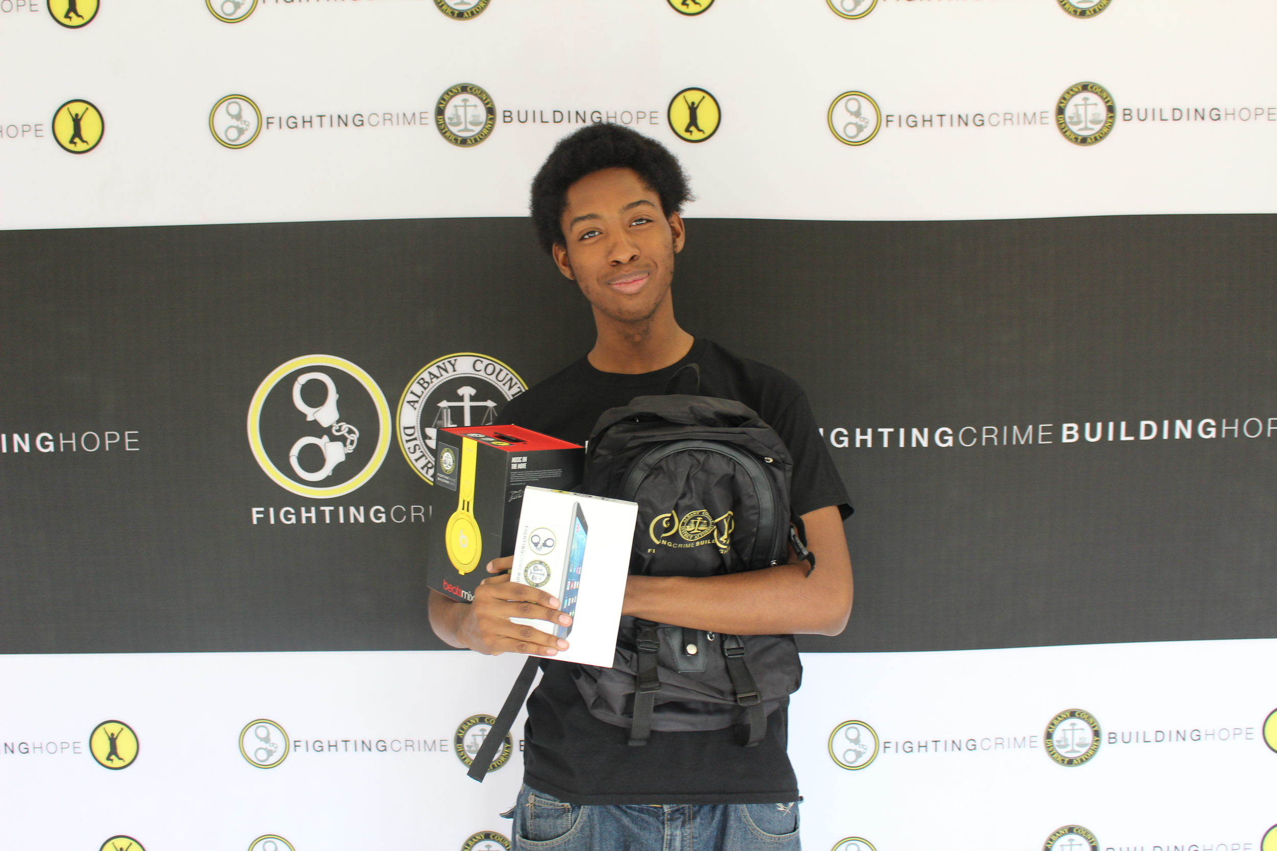 Dijour Carter from Albany High School is the April 2016 WORDS Grand Prize winner!