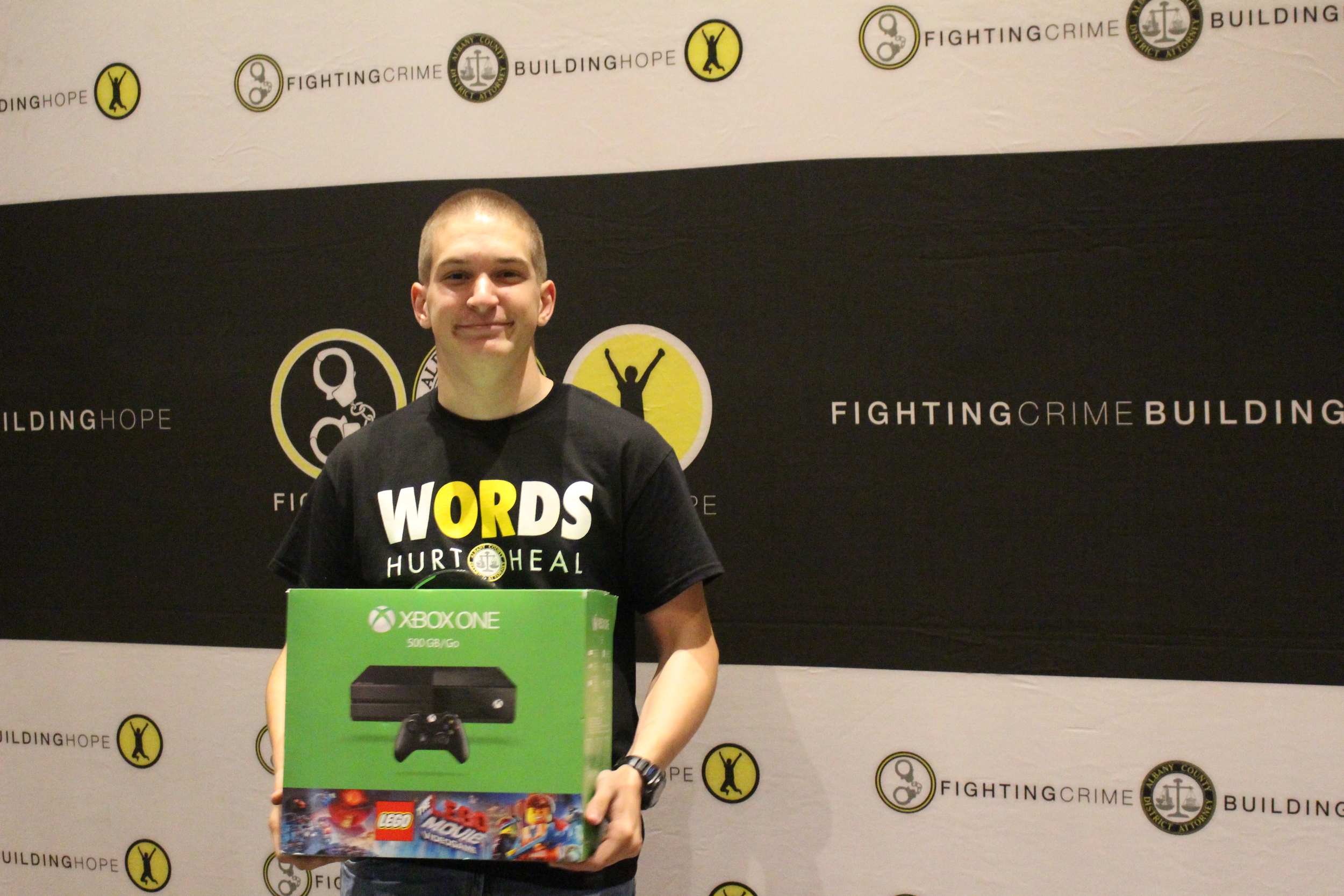 Brandon Fortuin from Berne-Knox-Westerlo Secondary School is the May WORDS grand prize winner!