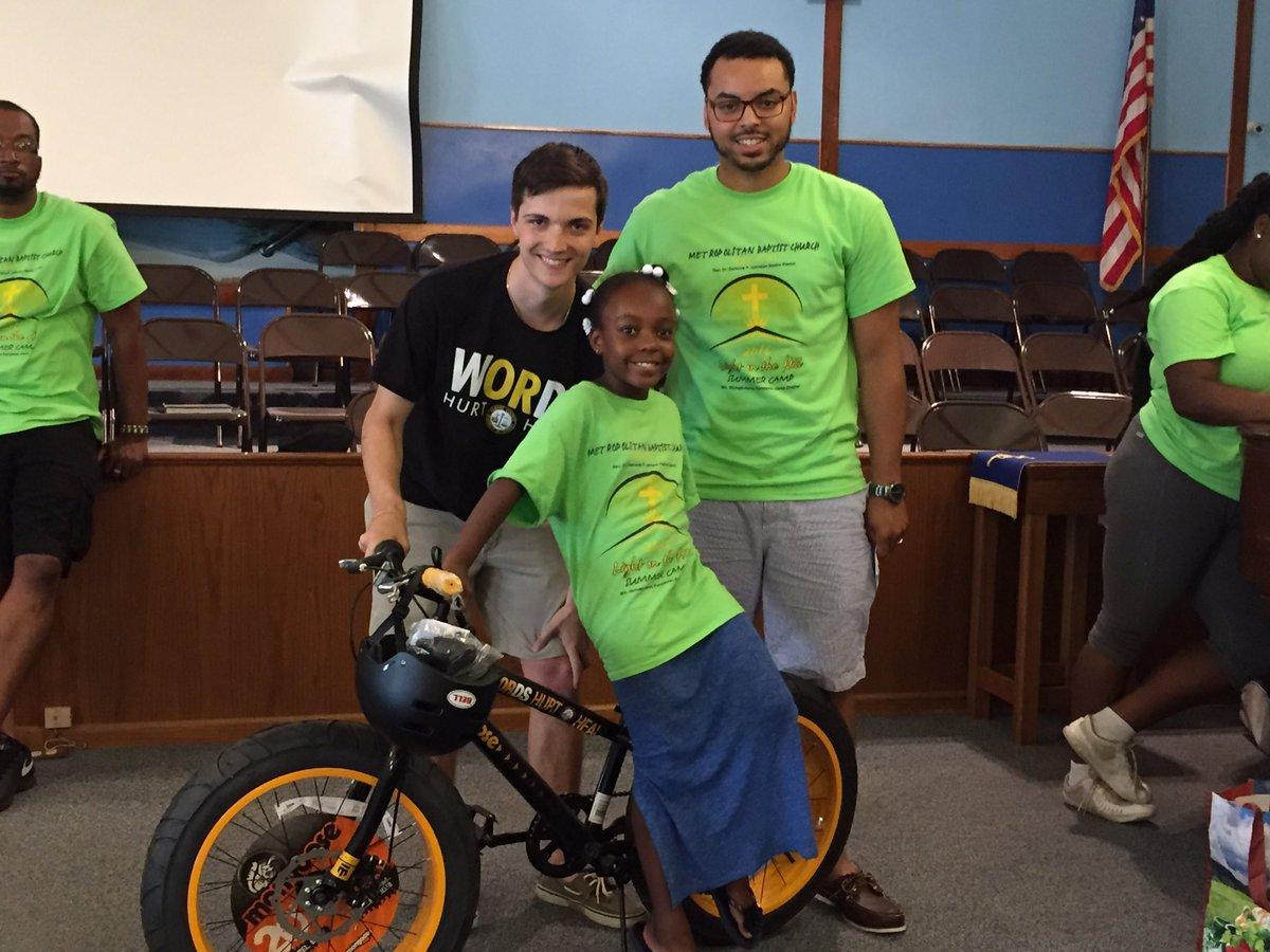 Taryn from Metropolitan Baptist Chuch Summer Camp