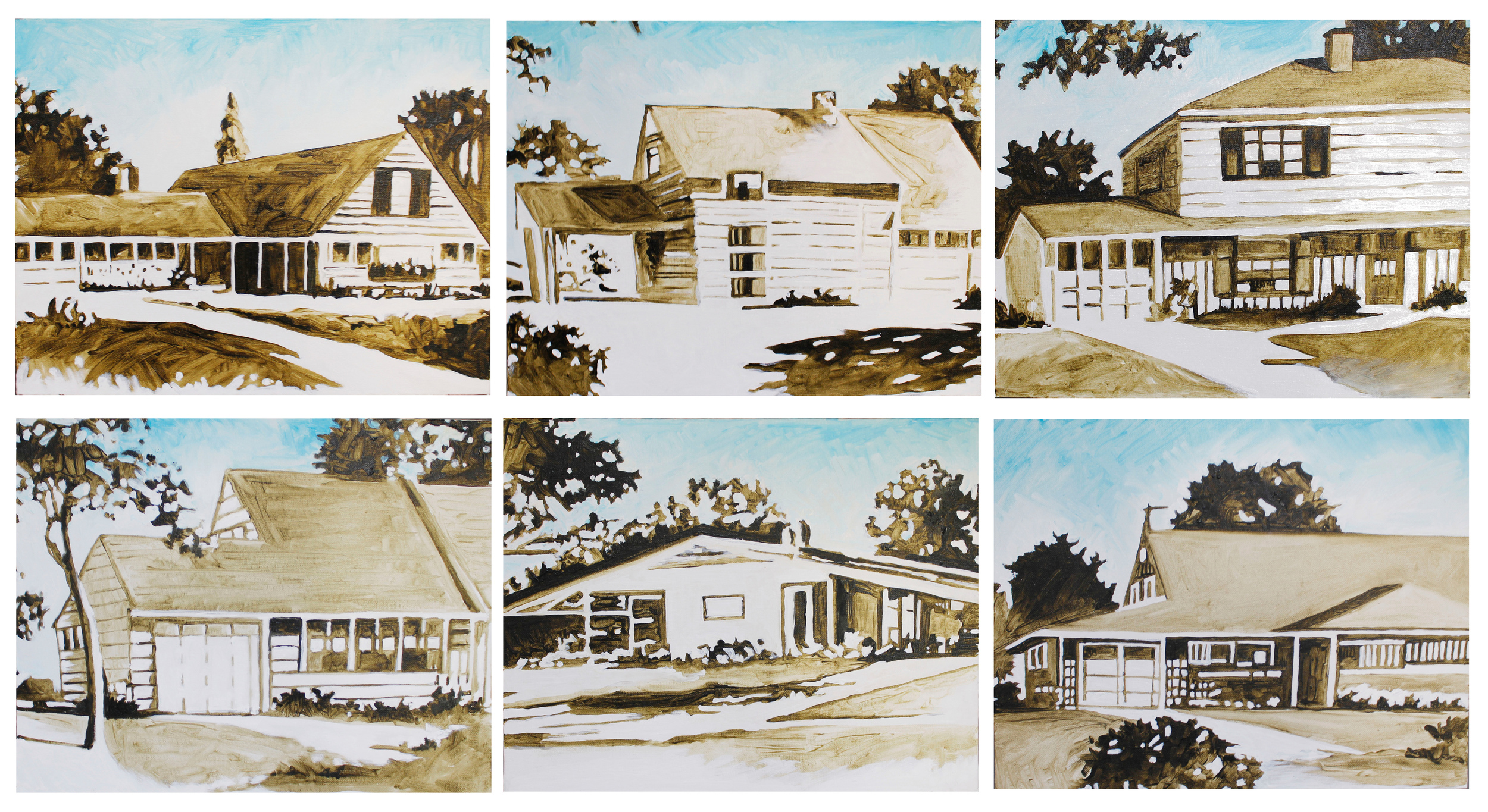 The Cape Cod, The Country Club, The Rancher, The Jubilee, The Levittowner and Pennsylvanian, 2013