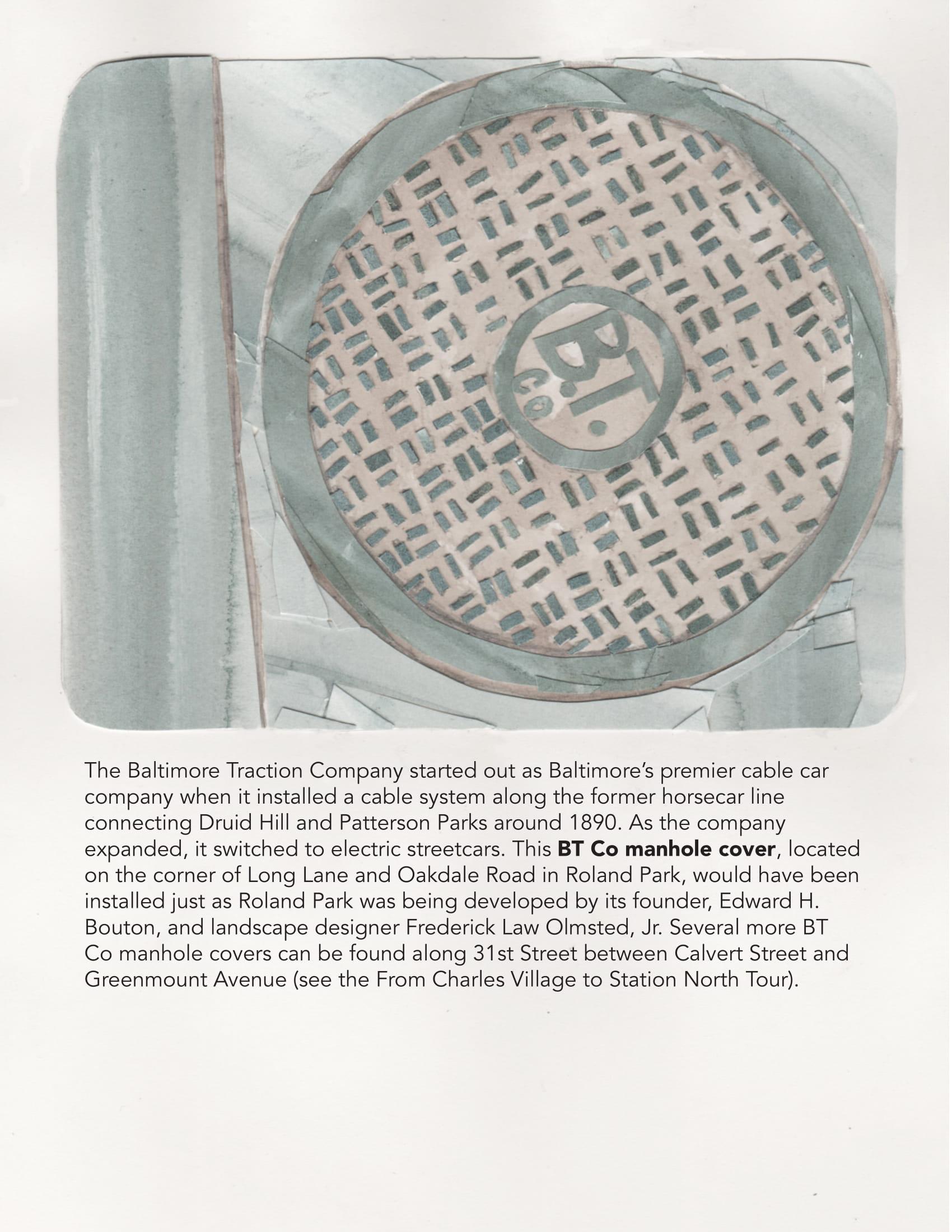 BT Co Manhole Cover