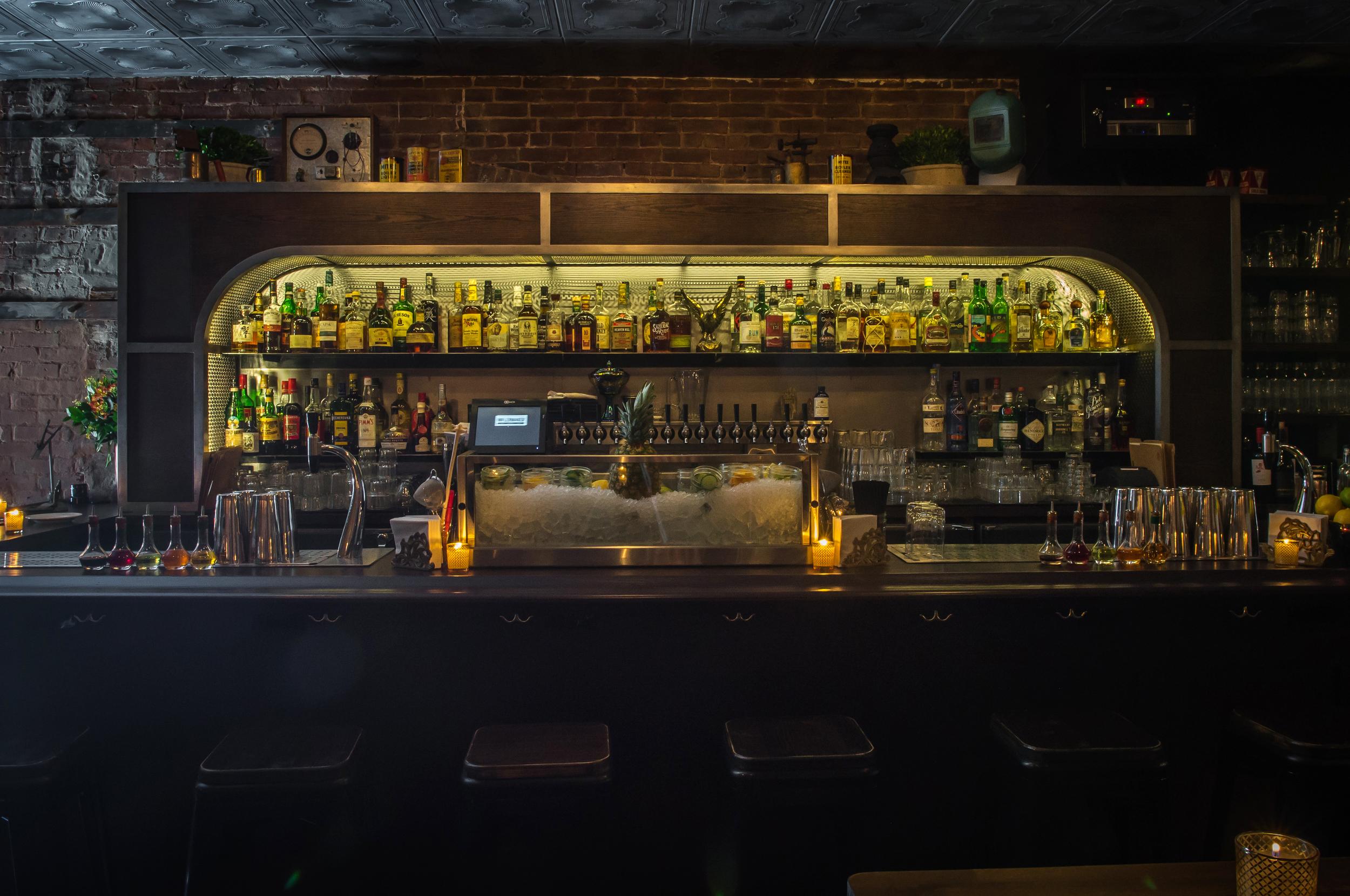 The bar. Photo credit Paul Wagtouicz
