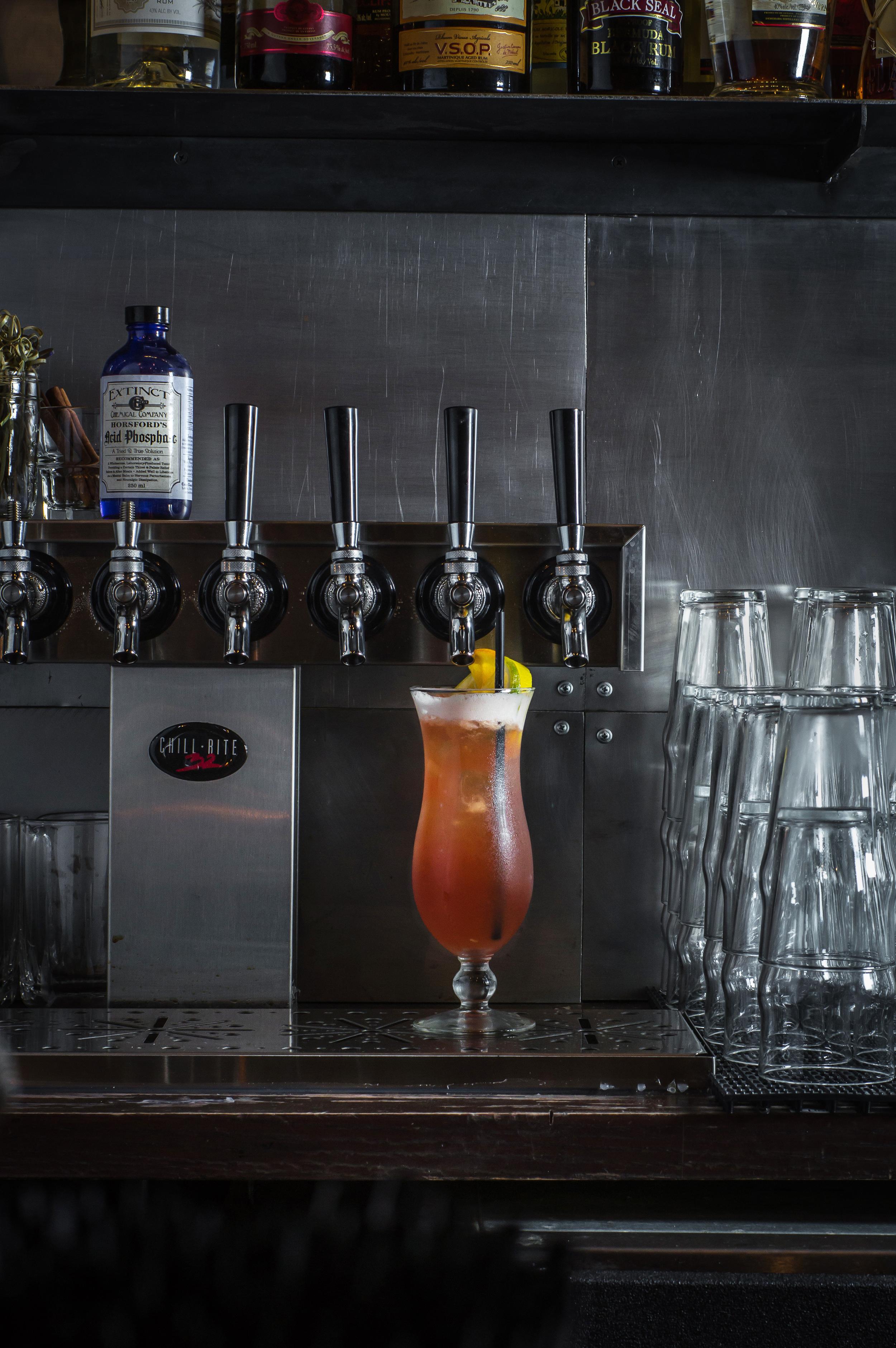Tap cocktails. Photo credit Paul Wagtouicz.