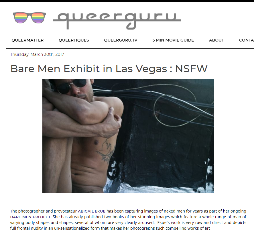 Bare Men Exhibit in Las Vegas   NSFW     QUEERGURU.png