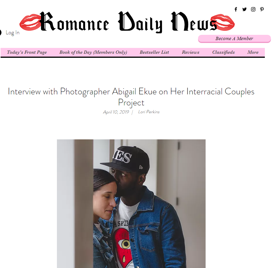 Interview with Photographer Abigail Ekue on Her Interracial Couples Project   Home   Romance Daily News.png