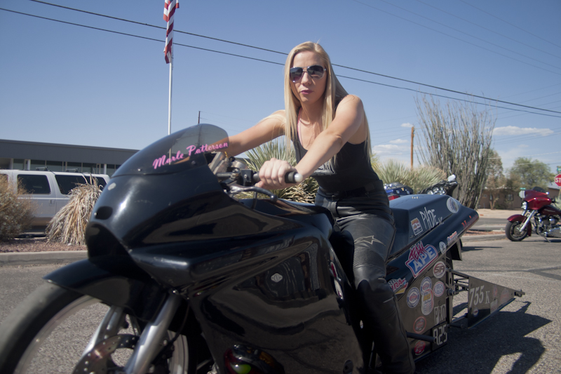 Marle Patterson - Drag Bike RacerTucson, AZ
