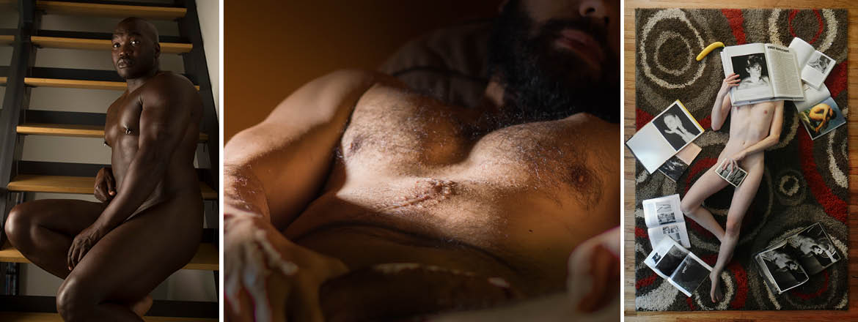 Bare Men: The Group Show  artists: © Adam Burke, © Jen Folsom, © Tim Foley