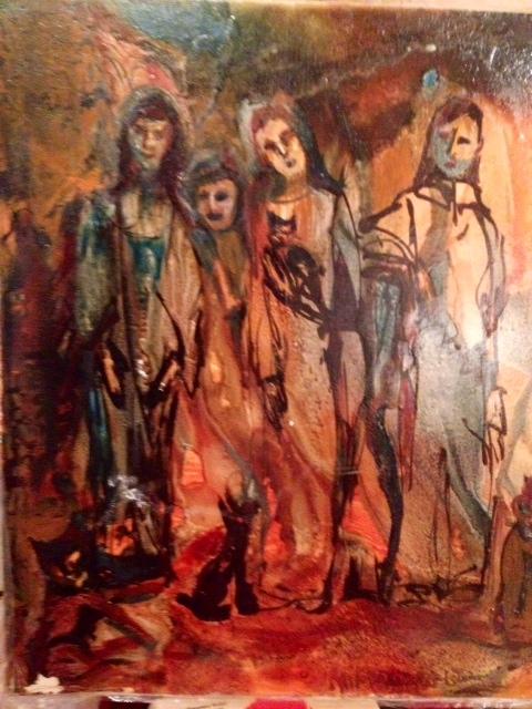 I call it Four Women--by Bettie Friendenberg