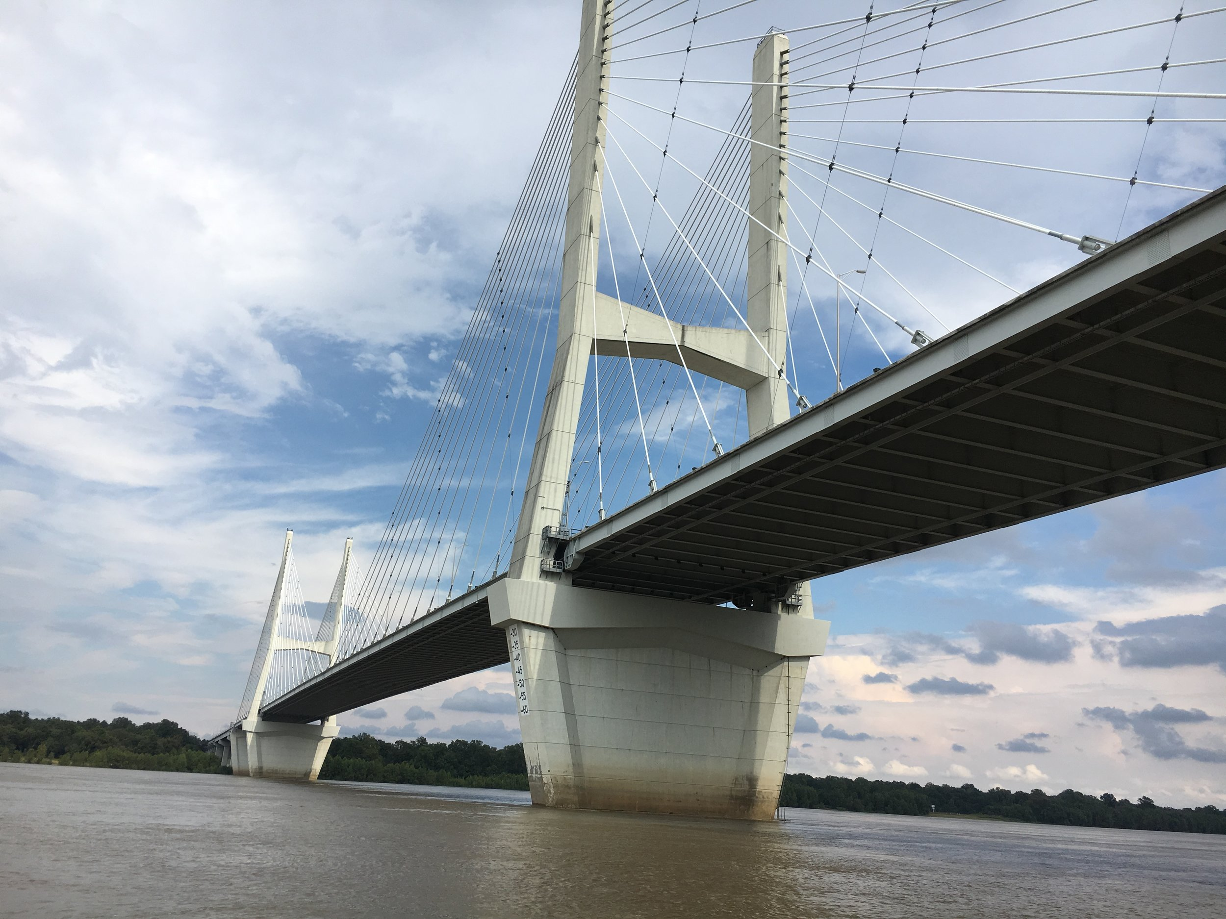 Mississippi River Hwy 82 Bridge Crossing (2018)