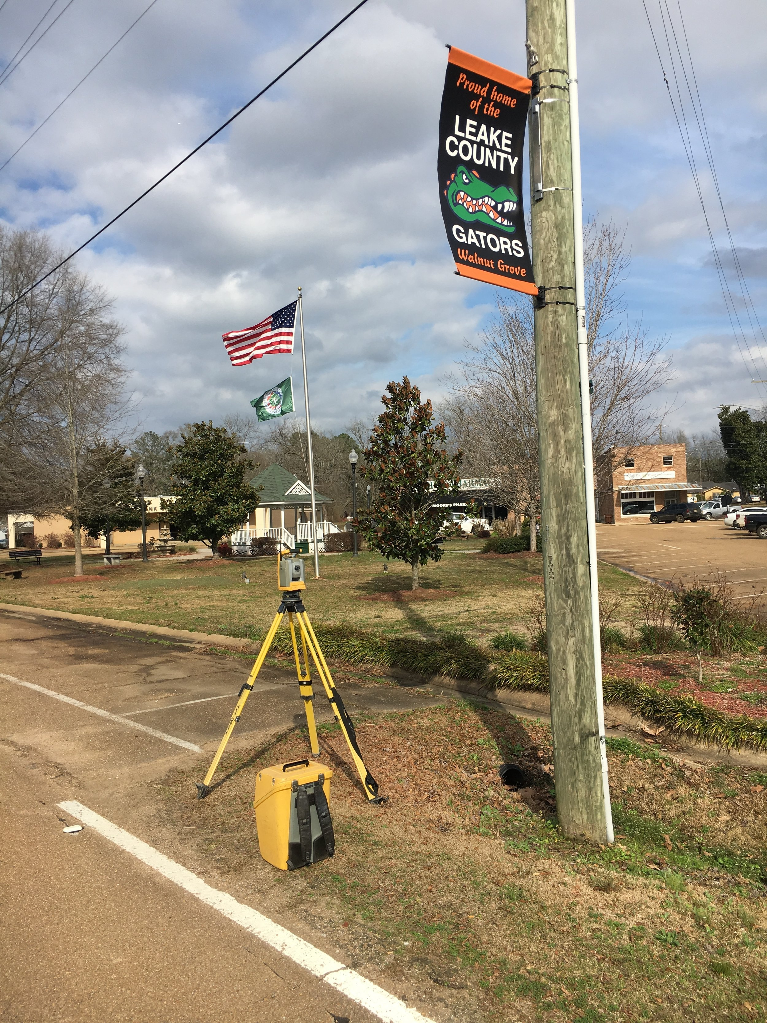 2018 Downtown Improvements for the Town of Walnut Grove, Mississippi  2019
