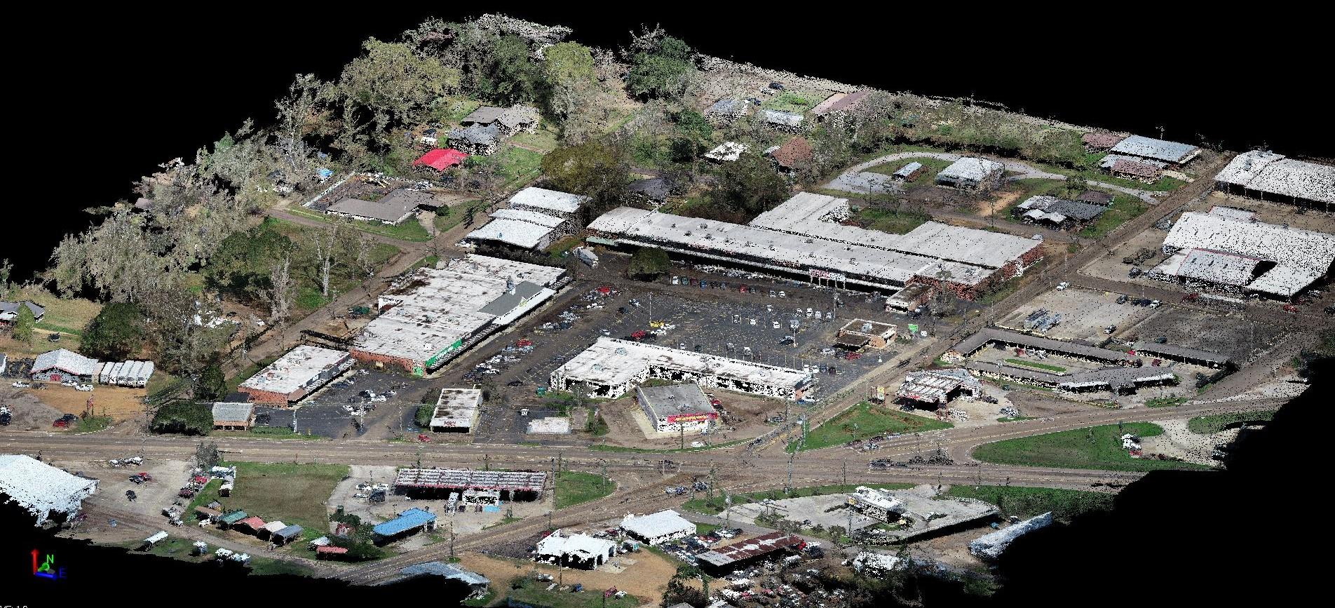 Pike Mart Boundary Survey for Southeast Real Estate Development Group, McComb, Mississippi  2019
