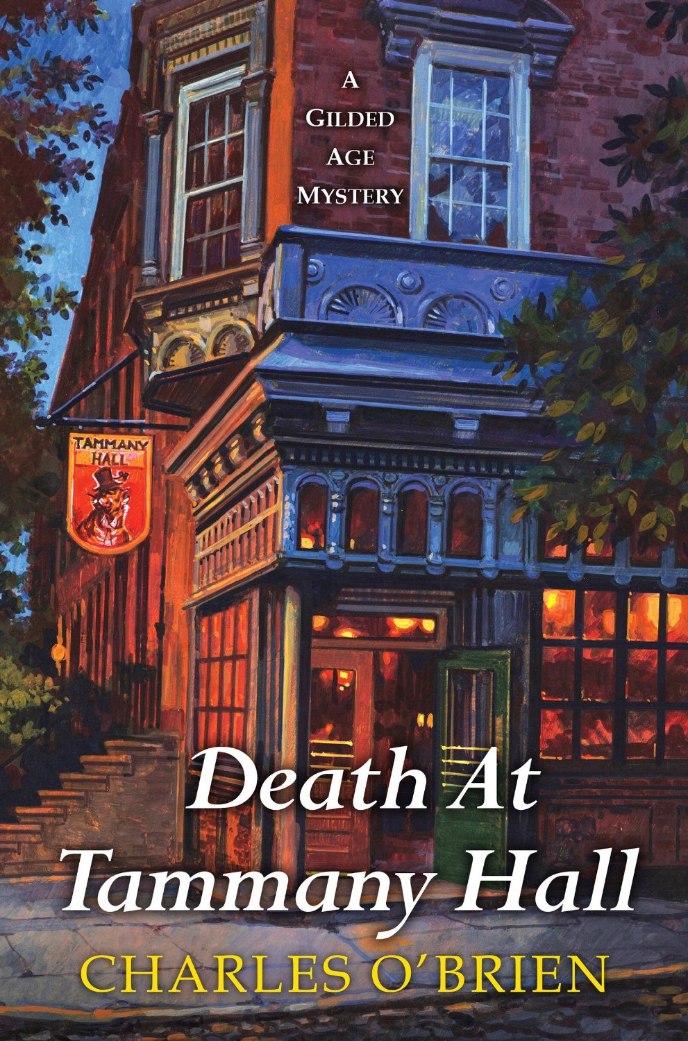 cover photo of Death at Tammany Hall