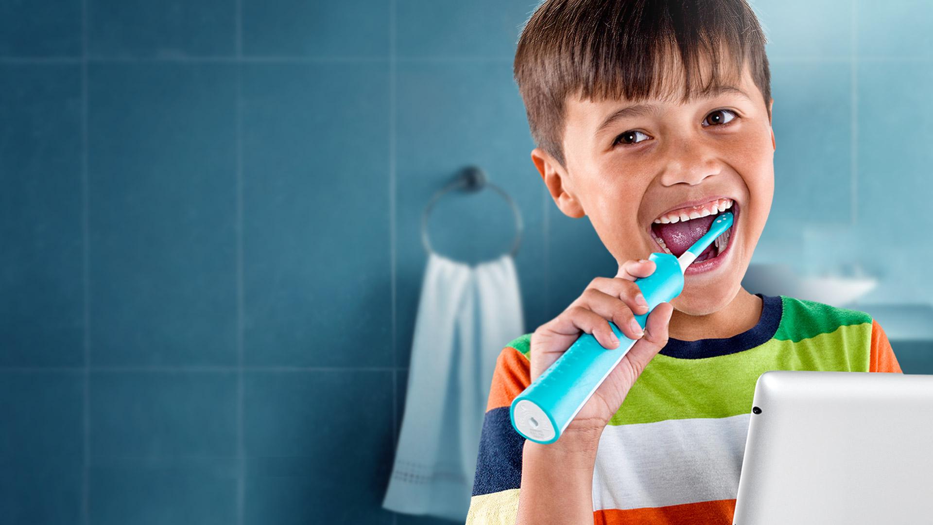 Sonicare for kids, Magnolia Dental, Dentist, Orlando