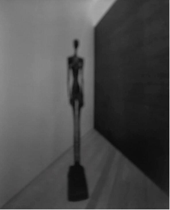 Hiroshi Sugimoto  Past Presence 070, Grand Femme III, Alberto Giacometti , 2016