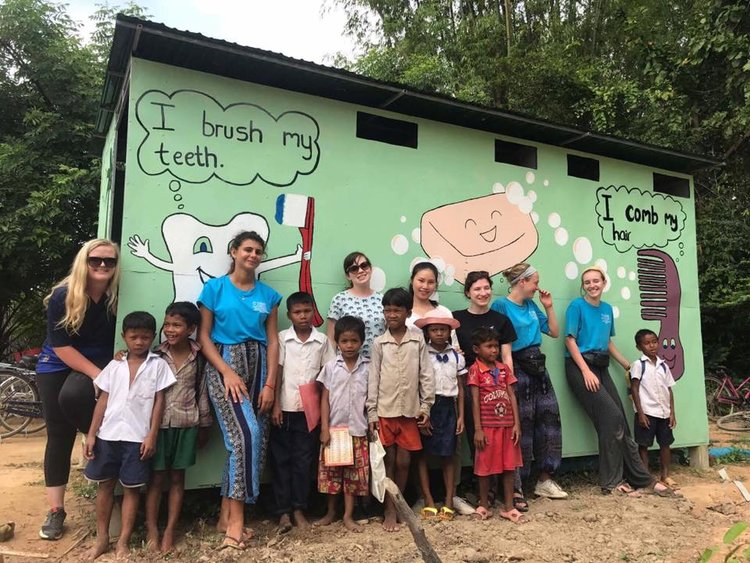 Cambodia - Educate under-privileged children, provide clean water facilities to new villages, and travel the incredible sites of ancient Cambodia!