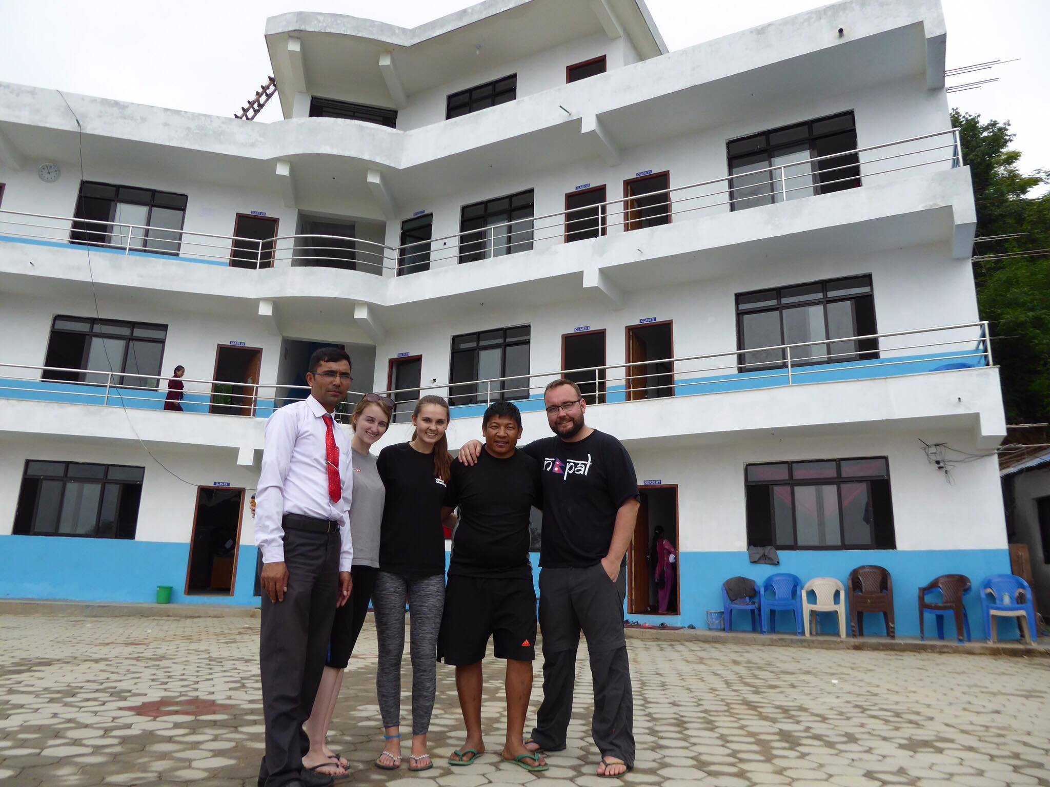 Success story: Sophie Jago - Amount Raised: £33,166Time taken: 3 yearsMost of the money went towards building a school in Nepal called Hillside Academy - it took 3 years to build and is now open with over 200 students. The rest went to helping schools in Nepal and Sri LankaHow did she do it?We got the most money through sponsored events like walks, runs, sleep outs in school. A really successful event was our quiz nights as we ran a raffle at the same time. We also did car boot sales and organised treasure hunts for younger kids.Sophie and her team outside the school which she fundraised £33,166 to build.