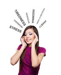 stressed woman with words.jpg