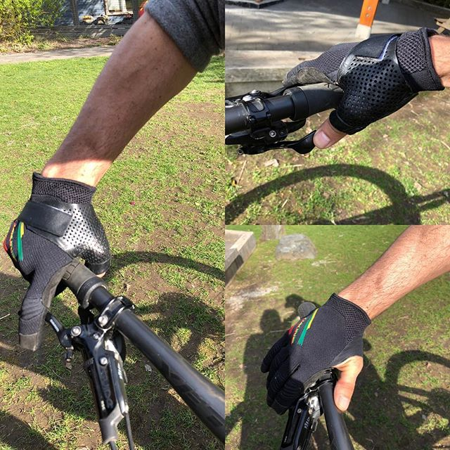 Don't let a sprained thumb stop you from riding! #certifiedhandtherapist #squamish #squamishlife #mountainbiking #customsplints #painistemporary