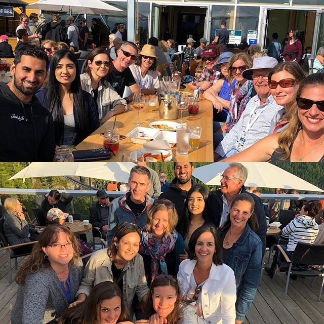 How great to be surrounded by this team @coastalalpinehand and a joy to treat ourselves to dinner and dance @seatoskygondola with the great @thehairfarmers  that never disappoint🎼🎤💃🏻😎#strongertogether #unionfaitlaforce #summersolstice2019