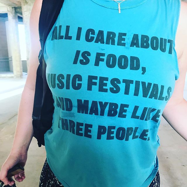 If you didn't see this one in our recent story this was def repost worthy😂 . . Ok for real tho... if a shirt could describe you perfectly what would it say?? 🤔🤔 #parttechno #parthippie #partthug