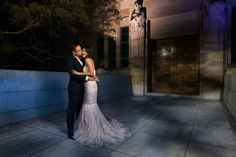 The University of Queensland, University in Brisbane, Queensland  Overseas Wedding Portraiture
