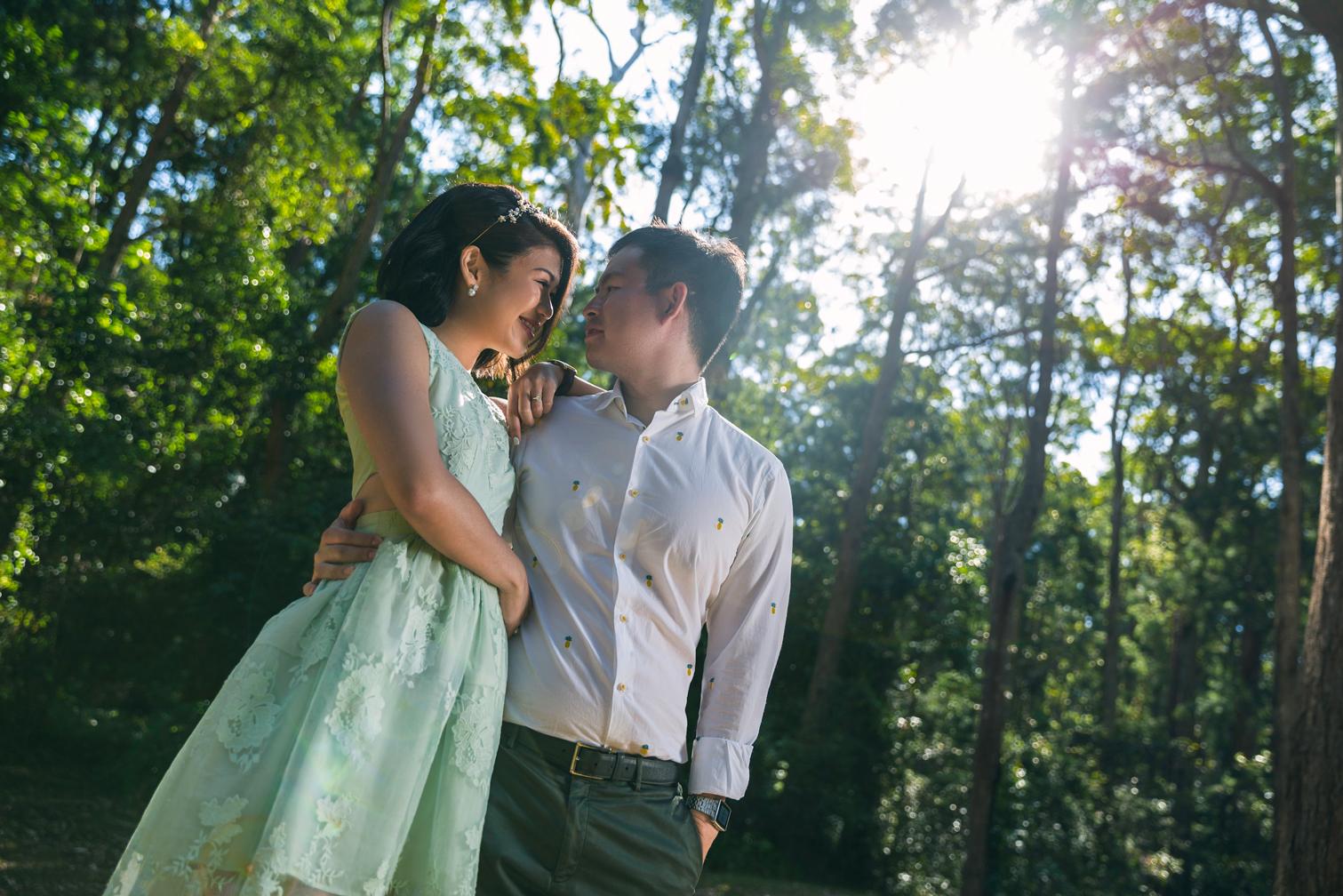 Mount Tamborine, Brisbane, Australia  Overseas Wedding Portraiture