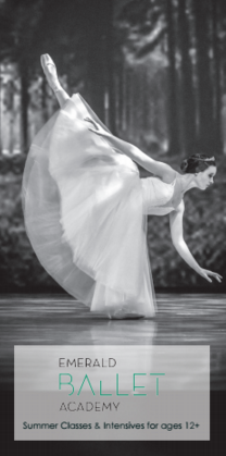 Classes and ballet intensives for ages 12+