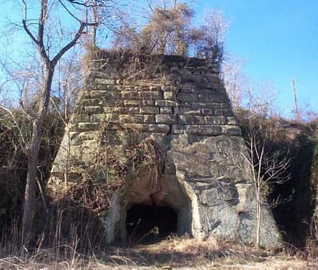 Madison Furnace in Cooper Wildlife Area by the ranger station.