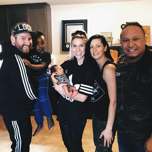 The Legacy Fam has grown by 1! Congratulations to @wonton_king and @jaceelorenpines on the arrival of their little one Royal Bold Zion Pines! He is SO adorable!