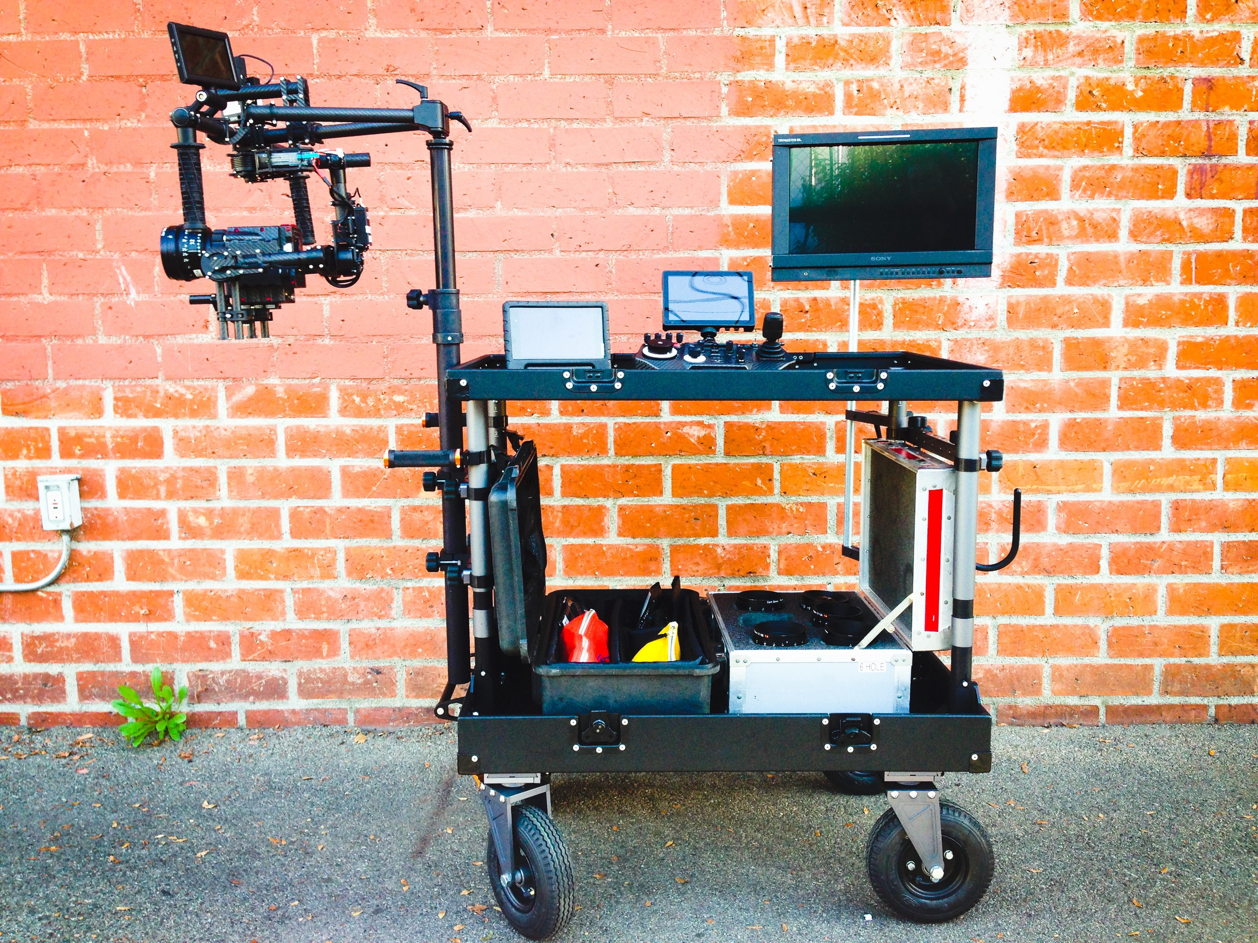 Custom INOVATIV Cart -  MoVI  w/ Red Carbon Fiber Dragon