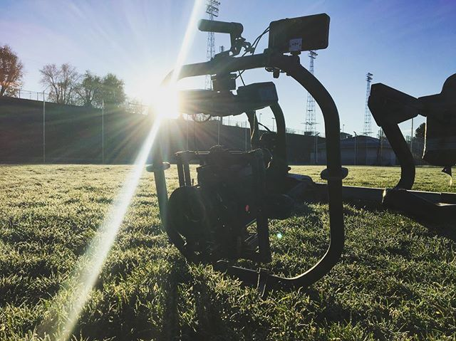 First job with @freeflysystems #movi #pro this thing is awesome! @readyrig @smallhd @paralinx @arri