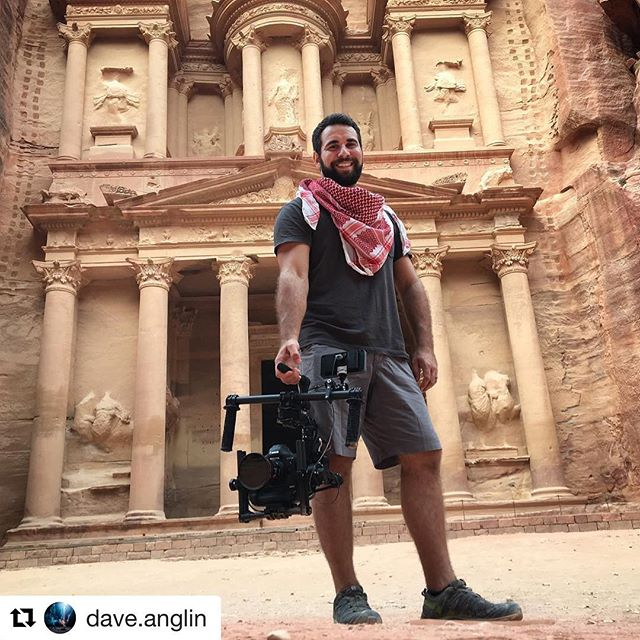 #Repost @dave.anglin ・・・ That's a wrap on 9 days in Jordan! Here's a photo from when we were shooting The Treasury at Petra! Thanks to everyone's support on this project it was a blast. Having this little setup to break out of a backpack when we needed it was invaluable to our workflow. The @canonusa 1DX Mkii from @radiantimages was a great setup for our low light situations and gimbal work. @freeflysystems @smallhd @tiffencompany @myjordanjourney #jordan #photo #photos #pic #pics #picture #pictures #snapshot #art #instagood #picoftheday #photooftheday #color #all_shots #exposure #composition #focus #capture #travel #traveling #vacation #instatravel #instago #holiday #travelling #tourism #instapassport #instatraveling