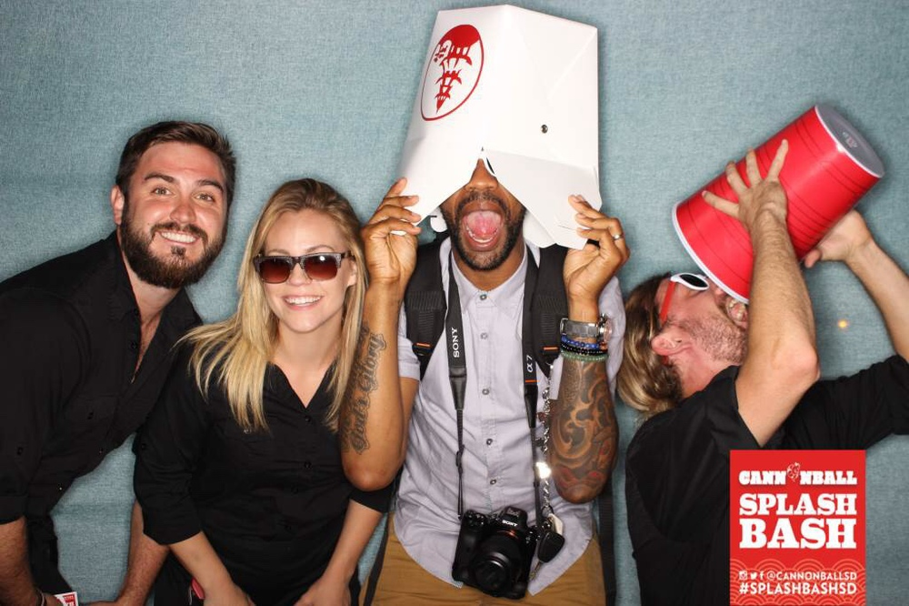 Photo Booth Pix: The fun  CANNONBALL Staff  +  Deme Robinson (TaGT)